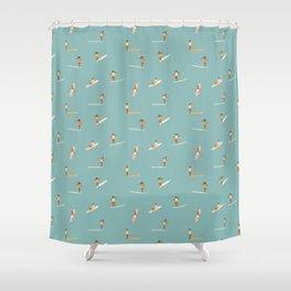 Surf Girls Shower Curtain
