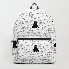 Cat and Birds with Attitude Backpack