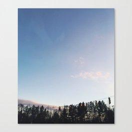 Sunset Stop Canvas Print
