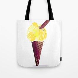 Ice Cream With Chocolate Flake Tote Bag