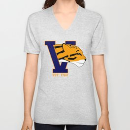 Fighting Ocelots! Unisex V-Neck
