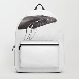 Humpback whale Megaptera Backpack