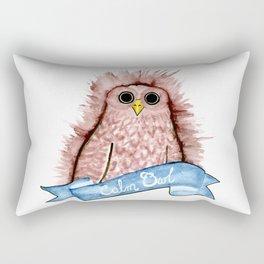 Calm Owl Rectangular Pillow