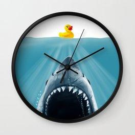 Save Ducky Wall Clock