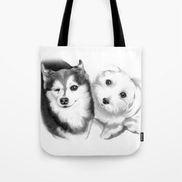 Kira and Bella Tote Bag