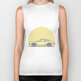 Porsche 911 964 vector illustration Biker Tank