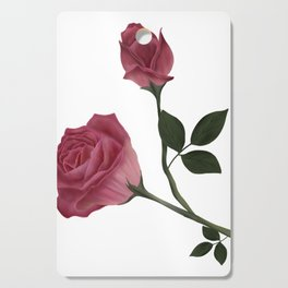 Mystical Maroon Rose Cutting Board