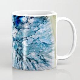 Blue Crystalline Coffee Mug
