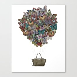 Valentino Butterfly Bag Canvas Print