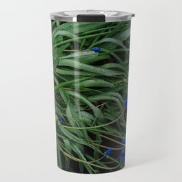 Muscari flowers after rain Travel Mug