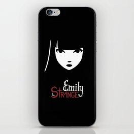 Emily the Strange: Emily's face iPhone Skin
