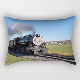 Steam Locomotive Rectangular Pillow