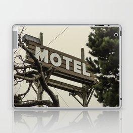 MOTEL sign Laptop & iPad Skin