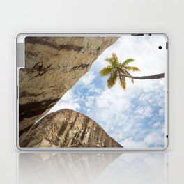 Virgin Gorda Batholithic Boulders and a Sunny Palm Tree Laptop & iPad Skin