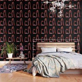 Three flamingos Wallpaper