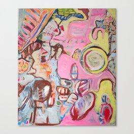 SunnyBeach Canvas Print