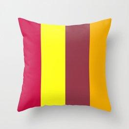 XRAY - PHONETIC COLOUR ALPHABET Throw Pillow