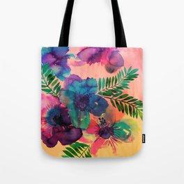 Skye Floral Tote Bag