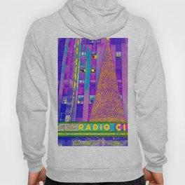 Radio City Music Hall with Holiday Tree, New York City, New York Hoody