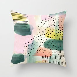 Boring Day Throw Pillow