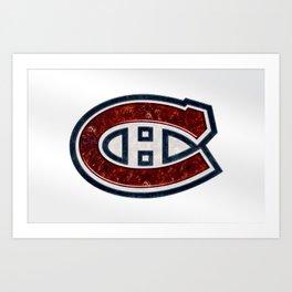 Montreal Canadian's Logo Art Print
