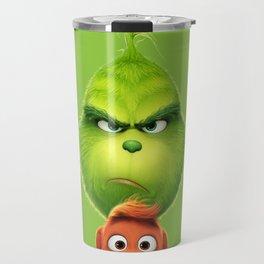 Grinch Travel Mug