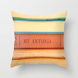 My Antonia Throw Pillow