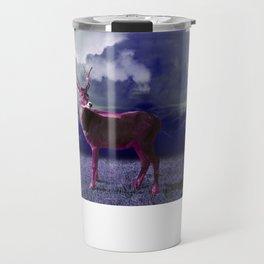 Le cerf dans les nuages Travel Mug