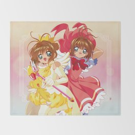 CardCaptor Sakura Throw Blanket