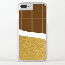 chocolate yum! Clear iPhone Case