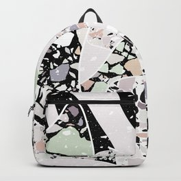 Abstract Terrazzo I. Backpack