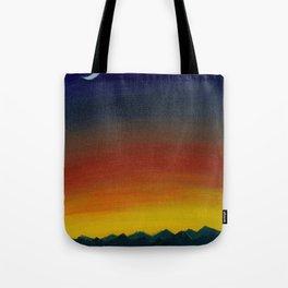 Hello Moon Tote Bag