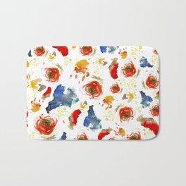 Poppy Paint Bath Mat