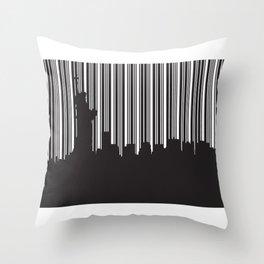 Statue of Liberty Throw Pillow