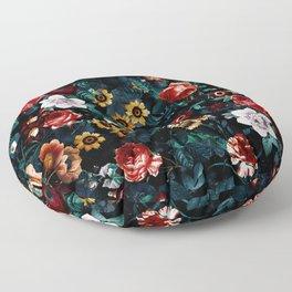 EXOTIC GARDEN - NIGHT VI Floor Pillow