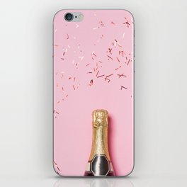 Pink Champagne Party iPhone Skin