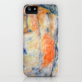 Colored Man iPhone Case