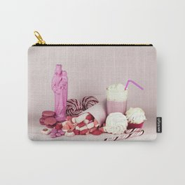 Sweet pink doom - still life Carry-All Pouch