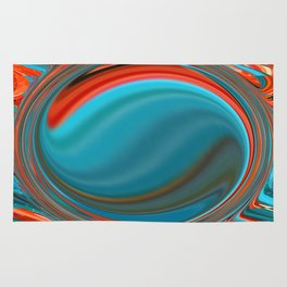 Hot and Cold Mind Rug
