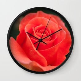 Pretty peach Wall Clock