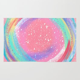 Candy Colored Circles Rug