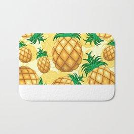 Pineapple Juicy Pattern Bath Mat
