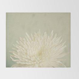 Pale Beauty Throw Blanket