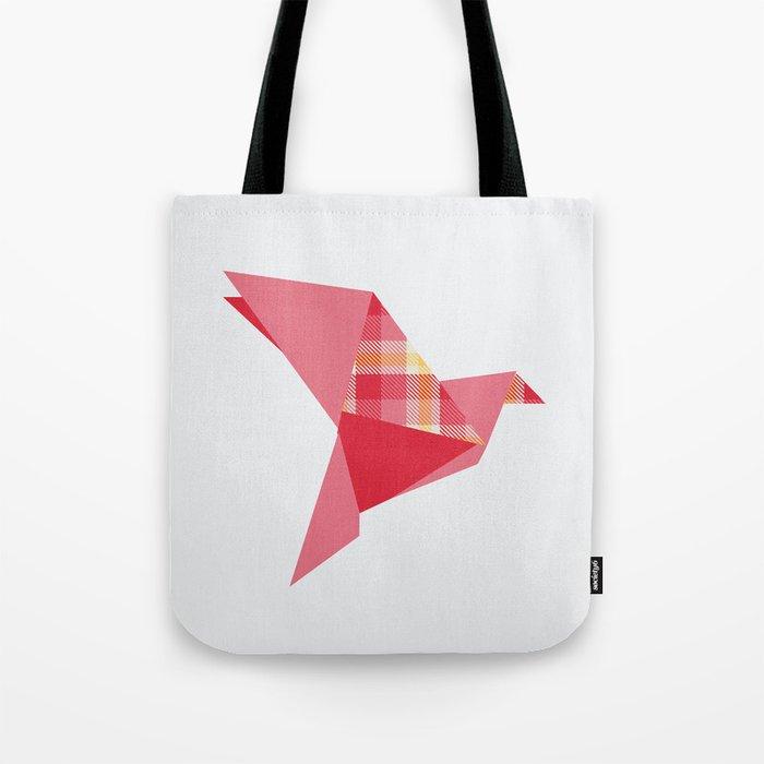 Origami Flight Tote Bag
