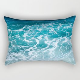 Ocean Waves in Hawaii Rectangular Pillow
