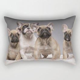 Puppy Gang Rectangular Pillow