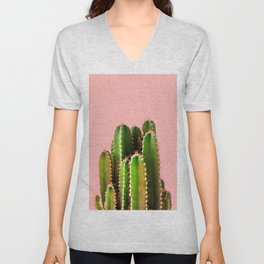 It's Cactus Time Unisex V-Neck