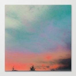 Tie Dye in the sky 4 Canvas Print