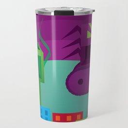 Monster Rampage (no title) Travel Mug