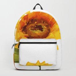Sunflowers Illustration Backpack